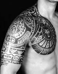 tribal meaning for arm and chest designs