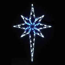 light up star of bethlehem star of bethlehem c7 led light display 4 8 ft h christmas star