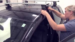 Honda Crv Roof Bars 2007 by Review Of The Thule Roof Rack On A 2011 Honda Fit Etrailer Com