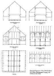 dutch barn plans hudson valley vernacular architecture