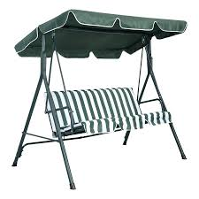 patio ideas deluxe patio swing lounger with canopy costco full