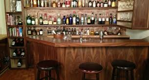 Indoor Bar Cabinet Bar Small Bar Furniture With Wooden Bar Cabinet Combined With