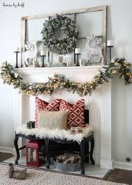 Winter Home Decorating Ideas Diy Christmas Mantel And Decor Ideas Landeelu Com