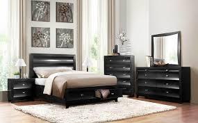 bedroom furniture store chicago homelegance 2262bk zandra black bedroom set with storage bed