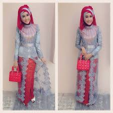 model baju kebaya muslim model baju kebaya muslim terbaru 2014 gallery ascending