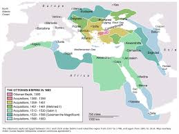 Ottoman Empire 1683 The Ottoman Empire In 1683 Maps And History Pinterest