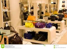 handbag purse department store stock images image 32814154