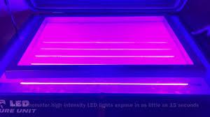 led uv light bulbs led uv light pro series screen printing exposure unit