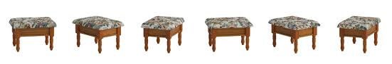 What Does Queen Anne Furniture Look Like Amazon Com Frenchi Furniture Queen Anne Style Footstool W