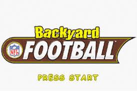 Backyard Football 2002 Play Backyard Football Nintendo Game Boy Advance Online Play