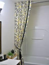 Outdoor Curtain Fabric by A Stroll Thru Life Diy Double Shower Curtain U0026 Liner Tutorial