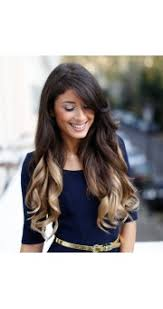 ombre extensions golden lush extensions