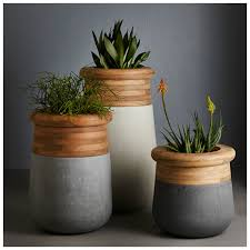 planters astounding contemporary planter commercial outdoor
