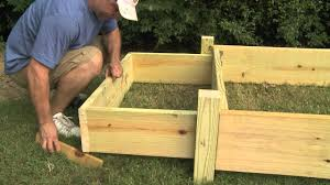 Greenes Fence Raised Beds by Raised Garden Bed Youtube