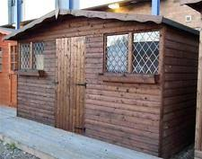 Garden Shed Summer House - 10x8 u0027 size summerhouse garden sheds ebay