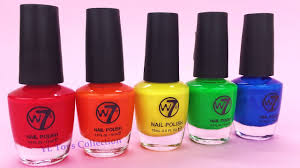 nail polish for kids learn colors finger family nursery rhymes