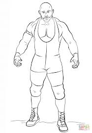 wwe ryback coloring page free printable coloring pages