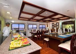 cormorant galapagos cruises audley travel dining room cormorant galapagos islands