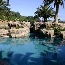 rock waterfalls for pools pleasanton ca artificial rock waterfall pool side tropical