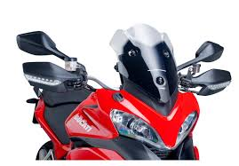 puig racing windscreen ducati multistrada 1200 s 2010 2012