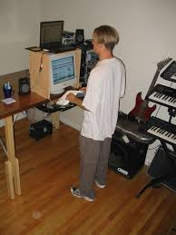stand up desk 3 steps
