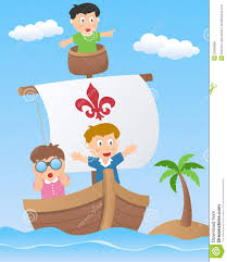 sailboat clipart child pencil and in color sailboat clipart child