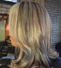 highlights for grey hair pictures grey hair with purple highlights pretty designs