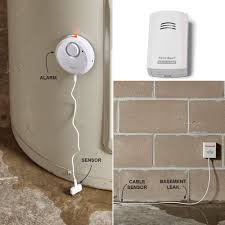 home tech automated water leak detection sump pump basement