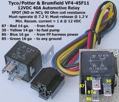wiring an electric fan w relay rod forum hotrodders