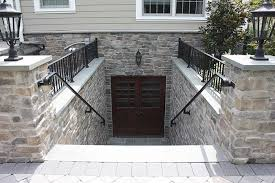 basement walkout walkout basement doors walk out basement copper chimney pots