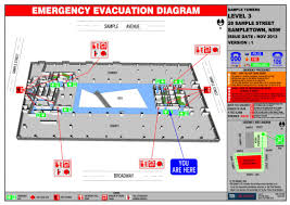 Fire Evacuation Plan Office by Evacuation Diagrams Tjs Fire
