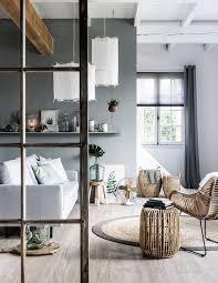 grey home interiors living room grey white elements scandinavian style