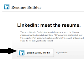 Linkedin On Resume Chic Create Resume From Linkedin 13 Resume Builder Create A From