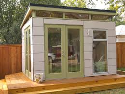 Backyard Office Kit by Prefab Shed Kits Modern Garden Outdoor With Studio Perfab Shed