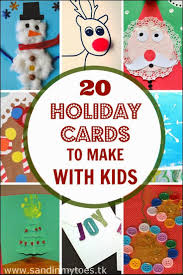 138 best christmas cards kids can make images on pinterest diy