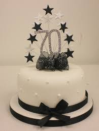 cake topper pearl burst spray diamante 70th birthday ivory pearls