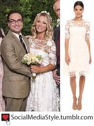 penny s kaley cuoco penny s the big bang theory wedding dress kaley