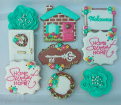 housewarming cookies 140 best baking cookies housewarming theme images on