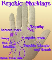 did you that your palm can let you if you are marked with