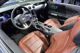 Saddle Interior 16 2015 Mustang Convertible Magnetic Mustangs Daily