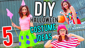 5 diy halloween costume ideas for teens youtube
