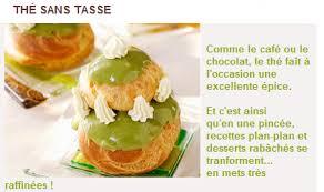 chaine cuisine tv thé sans tasse de cuisine tv mademoiselle thé