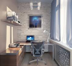 Modern Office Desks For Small Spaces Bedrooms Small Office Ideas Office Interior Design Ideas Home
