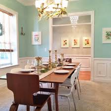 fabulously vintage the dining room is painted