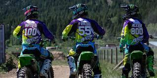 monster motocross gear 2016 monster energy alpinestars kawasaki mx track testing and