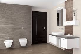 Porcelain Bathroom Tile Ideas Alluring Simple Bathroom With Gray Color Design Ideas With Gray