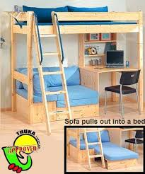Loft Bunk Bed Desk Cool Bunk Bed With Desk Best Knowledge To Understand About Bunk