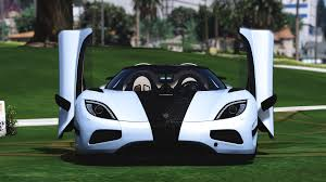 koenigsegg agera rs white koenigsegg agera r with door script add on gta5 mods com