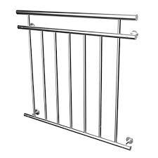 ringhiera fai da te lzq francese da balcone in acciaio inox lucido balcone stab