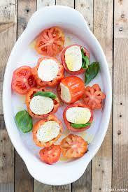 comment cuisiner le coeur de boeuf tomates coeur de boeuf mozzarella et basilic au four bonnetable